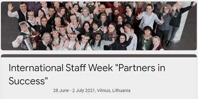 Тиждень міжнародної мобільності працівників університетів у Вільнюсі
